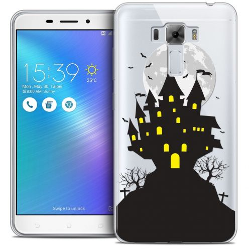 "Coque Crystal Gel Asus Zenfone 3 Laser ZC551KL (5.5"") Extra Fine Halloween - Castle Scream"
